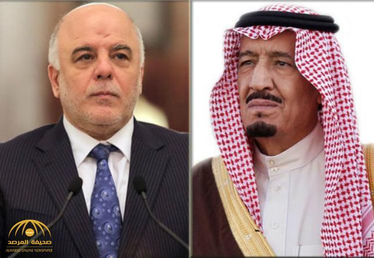 خادم الحرمين يجري اتصالاً هاتفياً برئيس مجلس الوزراء العراقي