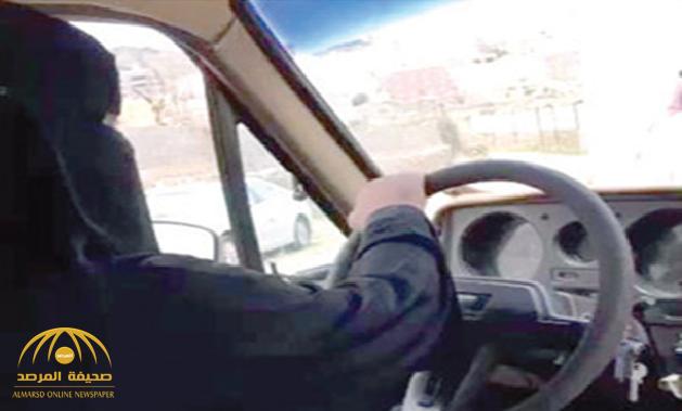"""تقود السيارة منذ 6 أعوام ..""""عسولة"""" تكشف عن تفاصيل تعلمها القيادة وكيف تنكرت بالملابس الرجالية لدخول أبها! -صور"""
