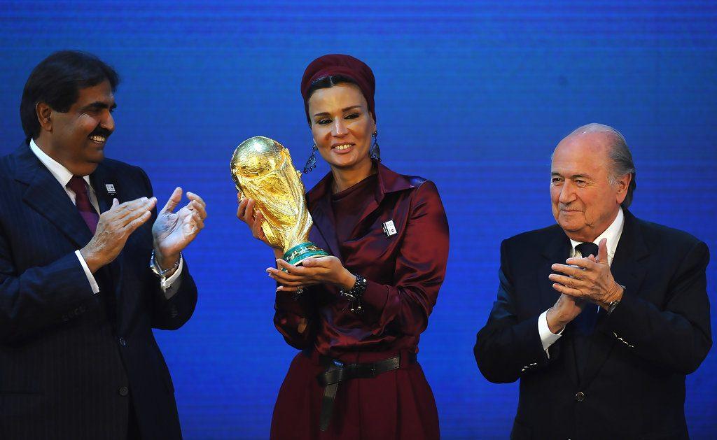 تقرير سري يتوقع فشل قطر في استضافة  كأس العالم عام 2022
