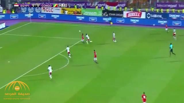 """بالفيديو .. محمد صلاح يؤهل """"أم الدنيا"""" إلى كأس العالم 2018"""