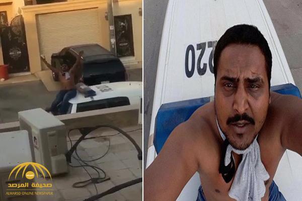 شرطة الرياض توضح ملابسات مقطع تعدي مقيم على دورية ومحاولة سحب سلاح رجل أمن – فيديو