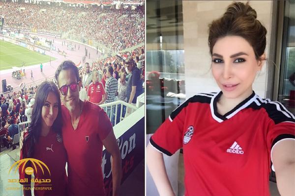 بالصور .. شاهد كيف احتفل الفنانون بصعود منتخب مصر إلى كأس العالم