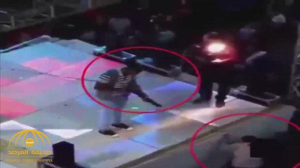 بالفيديو .. شاهد لحظة مقتل طفل مصري برصاصة طائشة بحفل زفاف