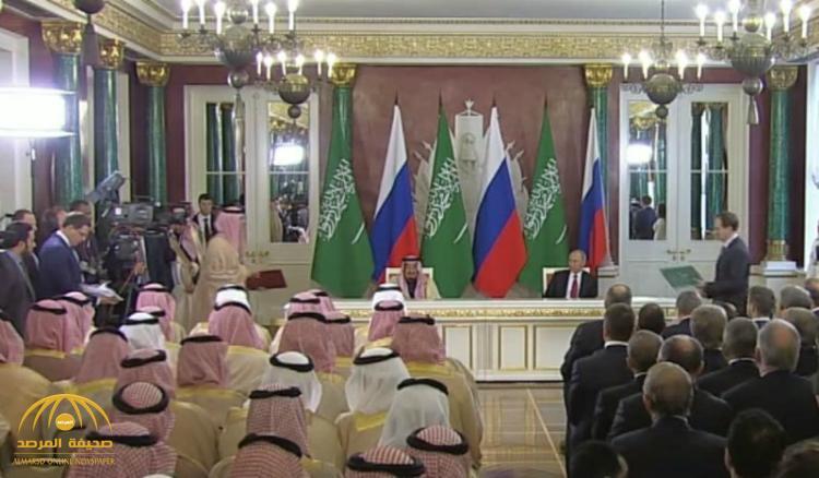 تعرف على أبرز الاتفاقيات الموقعة بين موسكو والرياض خلال زيارة الملك سلمان