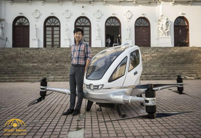 """شركة صينية تكشف عن موعد وصول """"التاكسي الطائر"""" إلى المملكة.. وتوضح تفاصيل """"سرعته وحمولته"""" !"""