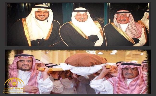 شاهد.. صورتان مؤثرتان تم تداولهما للأمير الراحل منصور بن مقرن