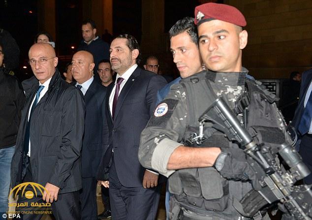 بالفيديو: الحريري يصل إلى مطار بيروت وسط حراسة أمنية مشددة