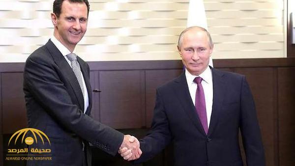 """لقاء مفاجئ بين قاتل أطفال سوريا والرئيس الروسي بوتين.. وحديث عن """"تسوية سياسية"""" مزعومة"""