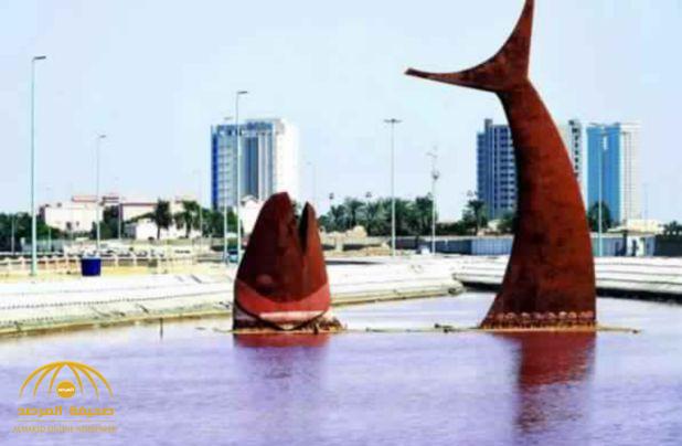 """""""الأرصاد"""": لا تقتربوا من """"بحيرة السمكة"""" في جدة !"""