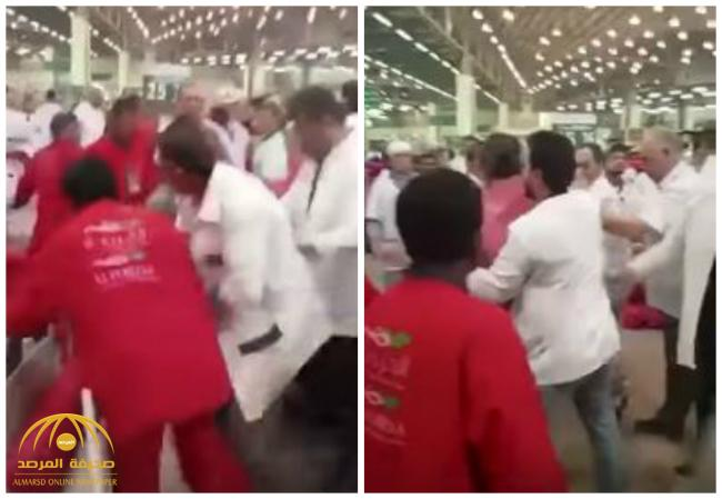 """بالفيديو .. """"أزمة البصل"""" بالكويت تشعل شجاراً في سوق الخضار"""