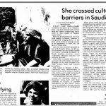 """صحيفة """"اميس تريبيون"""" تكشف عن قصة صورة لفتاة أمريكية كانت مقيمة في الرياض  قبل 40 عاما"""