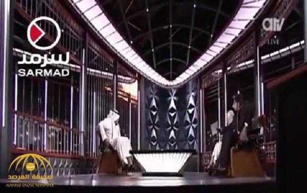 شاهد لحظة إحتراق استديو قناة العدالة الكويتية على الهواء مباشرة وردة فعل الضيف والمذيع