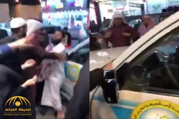 أول رد فعل من هيئة الأمر بالمعروف على مقطع ضرب الفتاة وإصابتها بالرياض!-فيديو