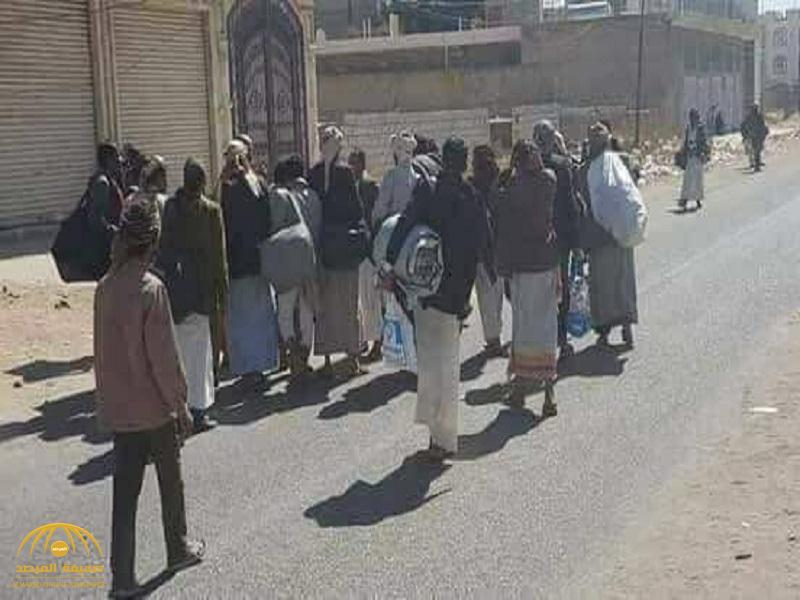 شاهد: لقطات حية تظهر فرار ميليشيا الحوثي من صنعاء!_فيديو وصور