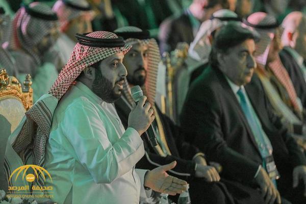 """بالفيديو :  """" آل الشيخ"""" يسخر من قطر  بتكليف نادي صحي في الرياض لمتابعة قضاياهم الرياضية"""