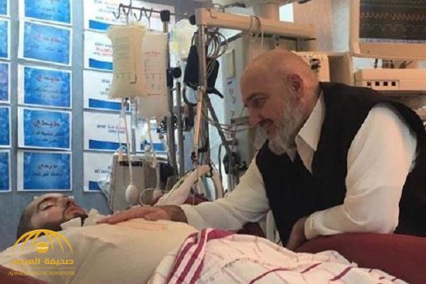 """شاهد.. أحدث صورتين لـ""""خالد بن طلال"""" ونجله الوليد الذي يعيش حالة غيبوبة منذ أكثر من 12 عاما"""