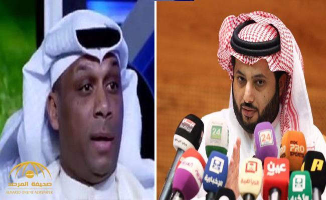 إعلامي كويتي : المنتخب السعودي خالٍ من النجوم .. وتركي آل الشيخ يرد بتغريدة -فيديو