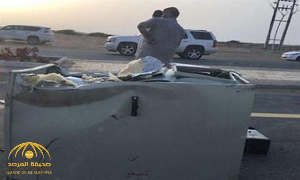 """هدد موظفي ساهر وأحرق الكاميرا بالنار .. تفاصيل الإطاحة بـ""""وافد"""" على طريق المطار بالطائف !"""