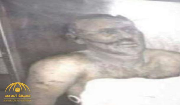 """صالح لم يُدفن بعد .. """"قناة العالم"""" تفضح الحوثيين بصورة جديدة لجثة """"صالح""""!"""