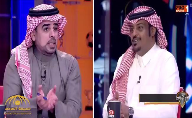"""فيديو .. إعلامي نصراوي ينصح """"العين"""" الإماراتي بعدم إعارة """"عموري"""" لنادي الهلال..والشريف: يرد !"""