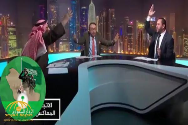 شاهد.. مشادة على الهواء بين عضو بحزب الله وكاتب كويتي.. والأخير: محمد بن سلمان يسوى جماعتك!