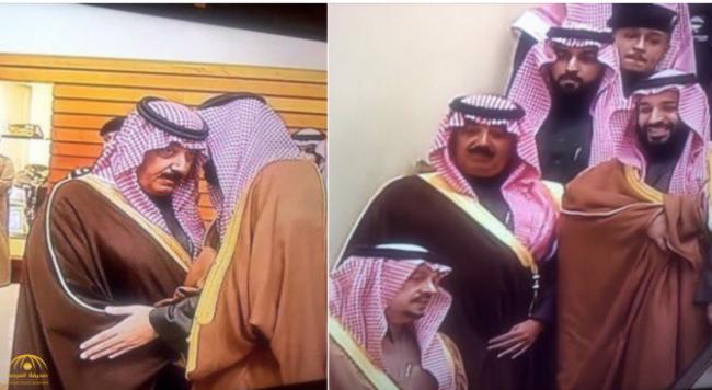 """شاهد.. لحظة استقبال الأمير متعب بن عبد الله لـ """"ولي العهد""""  بنادي الفروسية"""
