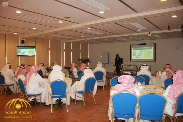 """لأول مرة …امرأة تقدم شرح لـ """"مديري هيئة الرياضة"""" حول إستراتيجية الاتحاد السعودي"""