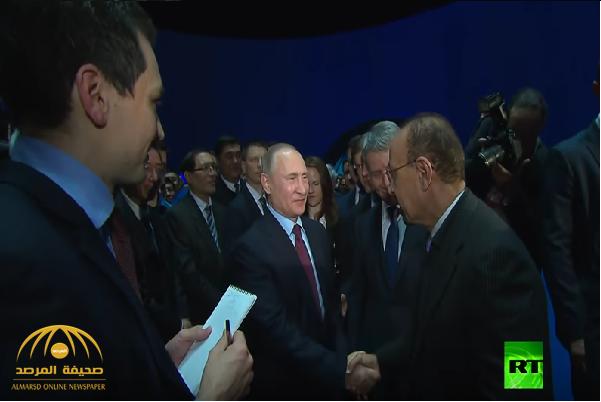 """بوتين لـ """"وزير الطاقة السعودي"""": اشتروا الغاز منا وادخروا نفطكم.. وهكذا رد عليه الفالح!..فيديو"""