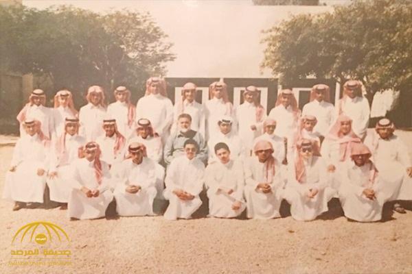 تركي آل الشيخ يفاجئ زملائه بنشر صورة لهم خلال المرحلة الثانوية.. ويذكر أسماءهم!