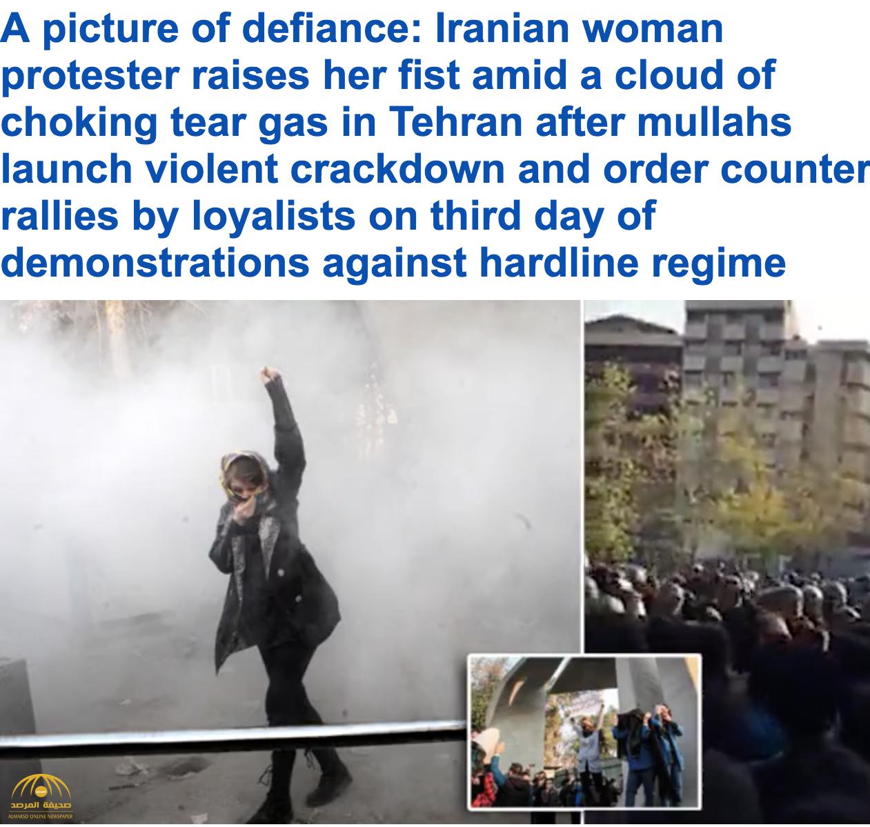 فيديو: المظاهرات تجتاح إيران بسبب الفقر ومقتل 5 مدنيين برصاص الحرس الثوري
