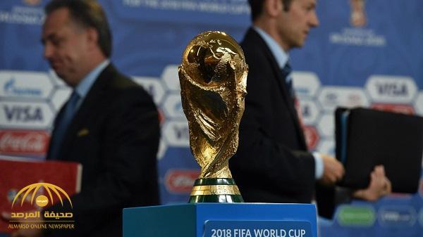 قرعة كأس العالم : السعودية و مصر بالمجموعة الأولى مع روسيا وأوروجواى