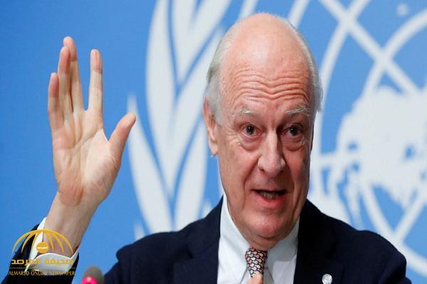 المبعوث الأممي إلى سوريا  يطرح  وثيقة مبادئ جديدة لوفدي النظام والمعارضة السورية