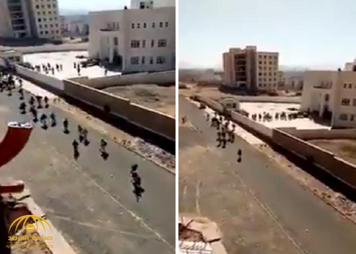 شاهد: قوات صالح تأسر أتباع الحوثي المختبئين في مستشفى الدرن بصنعاء!