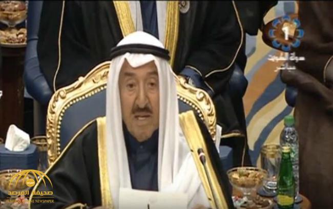 """شاهد كلمة الشيخ """"صباح الأحمد"""" في افتتاح أعمال الدورة الـ38 لمجلس التعاون الخليجي"""