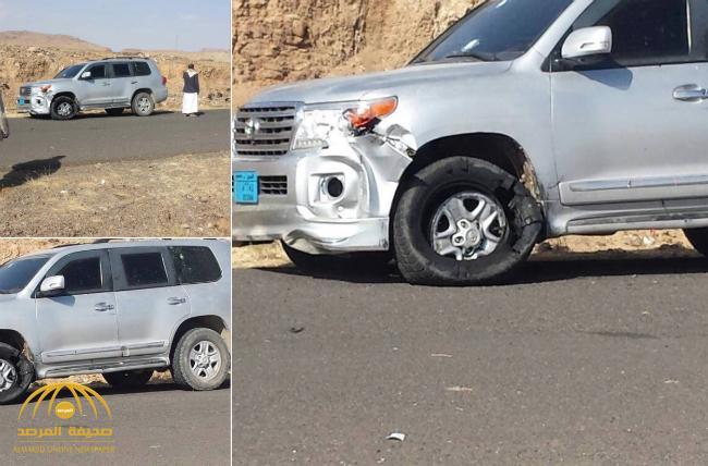 شاهد : صورة للمكان الذي شهد اغتيال علي عبدالله صالح .. وكيف ظهرت مركبات الحوثيين في الموقع