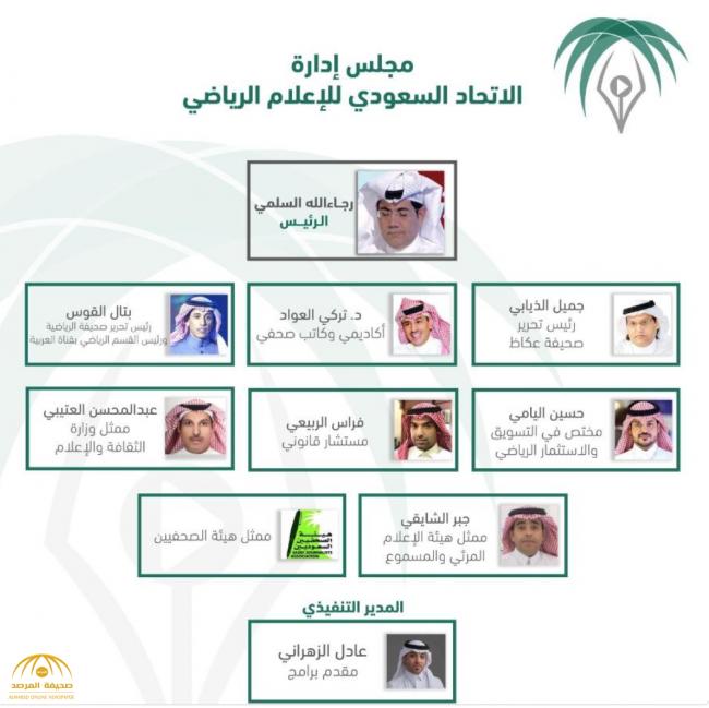 تفاصيل اعتماد تركي آل الشيخ لمجلس إدارة الاتحاد السعودي للإعلام الرياضي