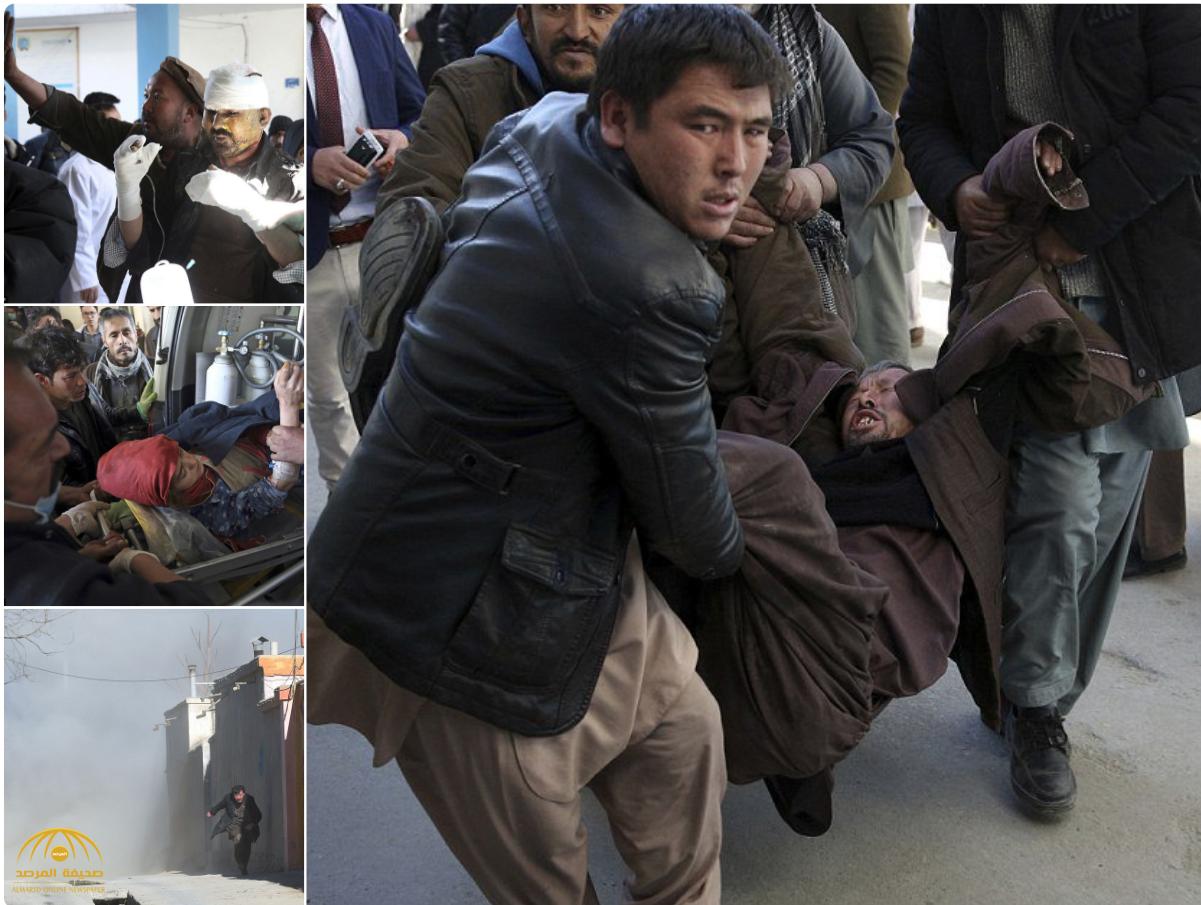 انفجار ضخم في وكالة الأنباء الافغانية والضحايا بالعشرات!