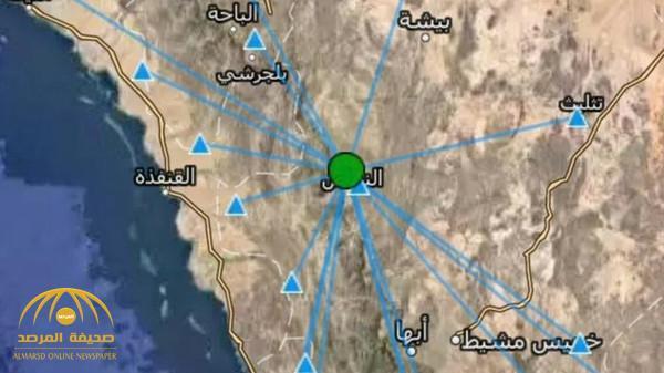 """شعر بها سكان المحافظة.. هزة أرضية جديدة تضرب """"النماص"""""""