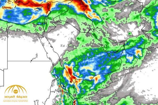 """""""محلل طقس"""" يكشف عن تعرض عدة مناطق في المملكة لسلسلة حالات مطرية وعدم استقرار.. وهذا موعدها!"""