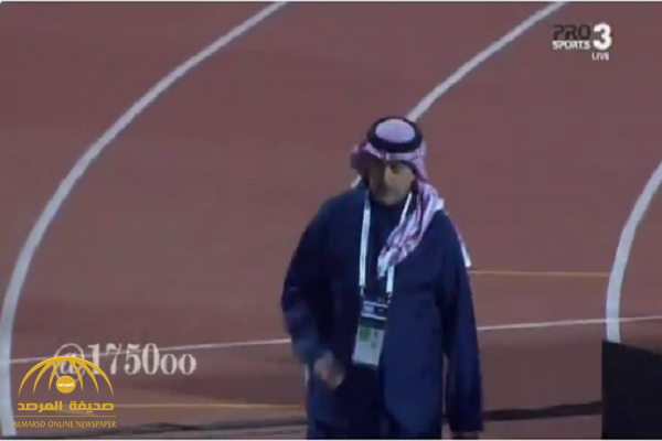 شاهد.. ردة فعل غريبة من سلمان المالك بعد مباراة النصر والتعاون!