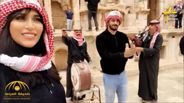 شاهد .. الدكتورة خلود وزوجها يرقصون على الدبكة الأردنية