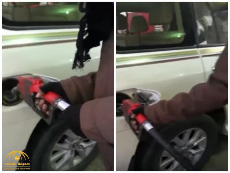بعد رفع أسعار البنزين.. شاهد: تكلفة تعبئة وقود لسيارة لاند كروزر!-فيديو