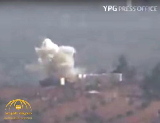 شاهد.. أكراد يستهدفون دبابة تركية بصاروخ حراري في عفرين السورية