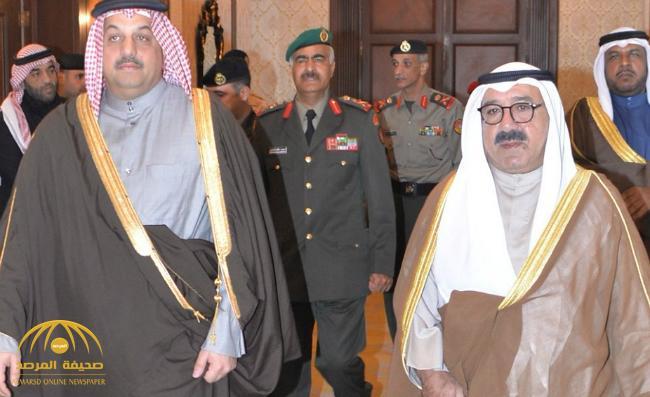 لأول مرة منذ تعيينه وزيراً للدفاع نجل أمير الكويت يزور قطر