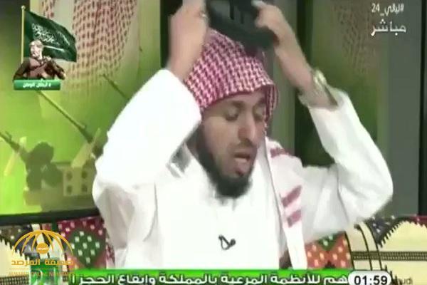 """شاهد ردة فعل """"المريسل"""" بعد خبر عودة الأمير """"خالد بن فهد"""" لدعم النصر .. ومغرد : على طول جحد كحيلان!"""