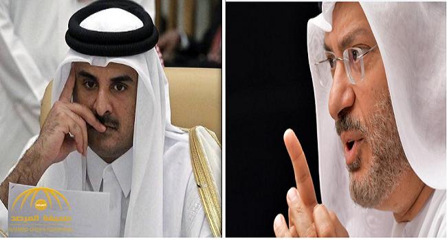 قرقاش : قطر تواصلت مع السعودية و تآمرت على الملك.. وهذا سيناريو نهاية الأزمة!