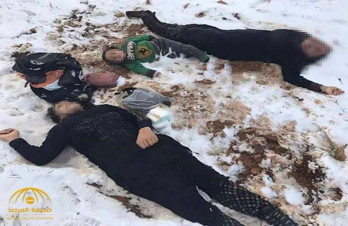 بالصور و الفيديو : مأساة جديدة على حدود لبنان .. لماذا توفيت هذه الأسرة السورية ؟