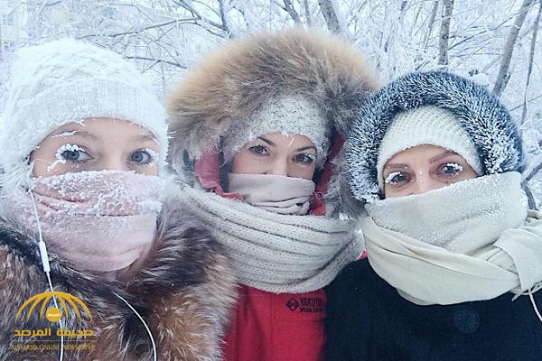 حتى الرموش تجمدت … شاهد: كيف يعيش سكان قرية روسية مع درجة 50 تحت الصفر