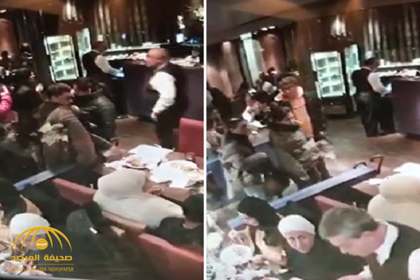 شاهد: سرقة شنطة ثمينة من جانب سيدة كويتية داخل مطعم في باريس.. وكاميرا المحل ترصد الجاني!