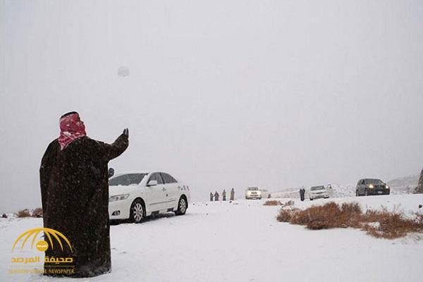 طقس اليوم.. سحب رعدية وأمطار وثلوج بـ 5 مناطق بالمملكة!